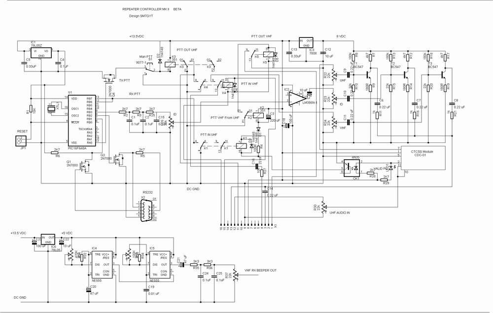UHF Repeater